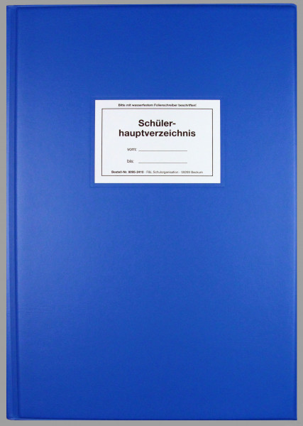 Schülerhauptverzeichnis