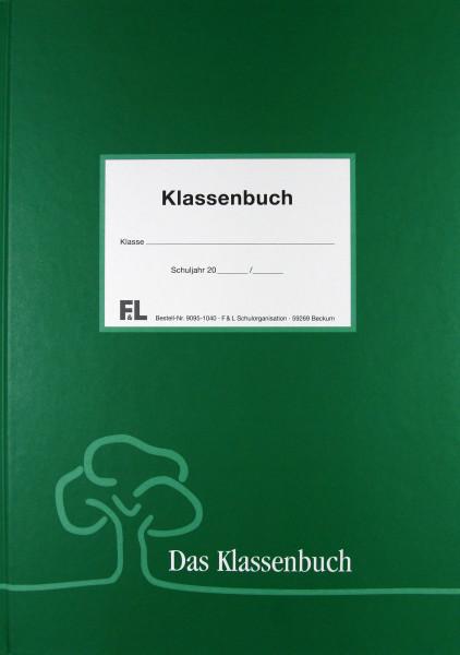 Klassenbuch Klassiker Buchdecke PVC Frei