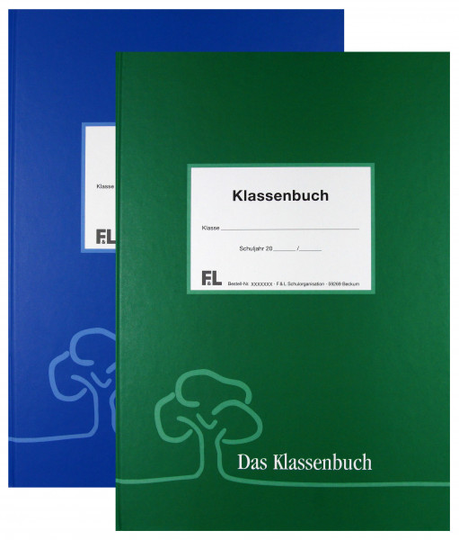 Klassenbuch komplett PVC Frei