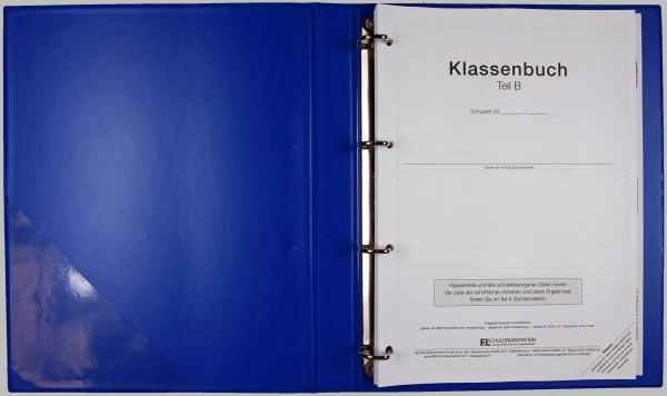 Klassenbuch FOS Teil B stundenw. LoseBlatt im Ordner