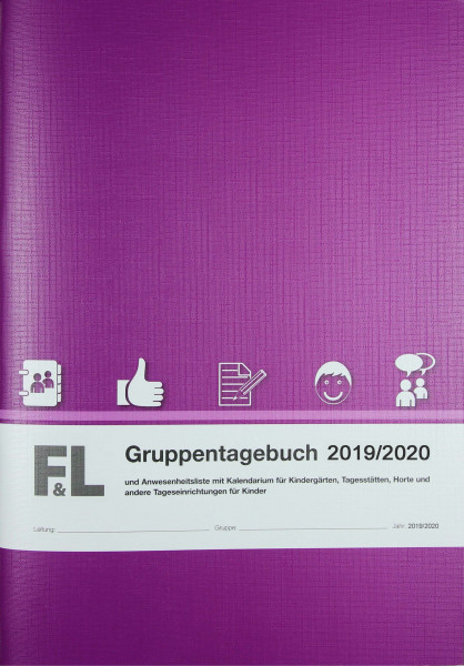 Gruppentagebuch mit Kalendarium Ausgabe 2019/2020