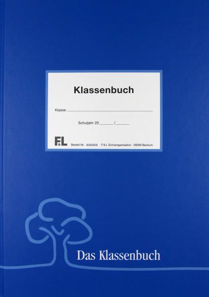 Unterrichtsbericht std.-weise blaue Buchdecke PVC Frei