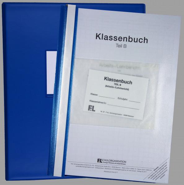Klassenbuch GRS NRW Teil B wochenweise, Inhalt + Ordner