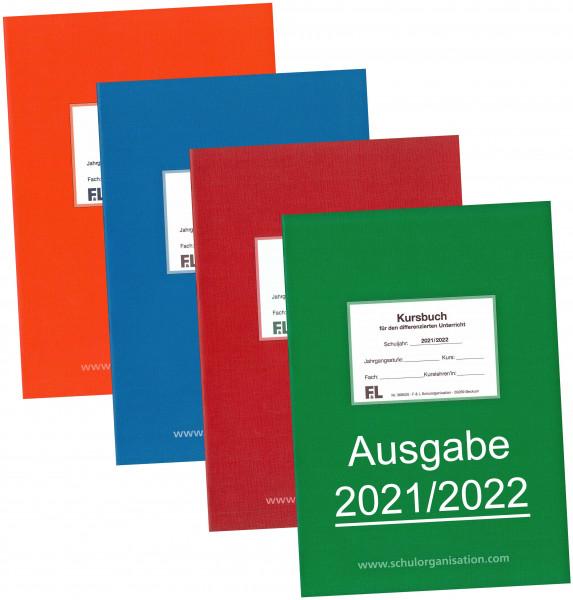 Kursbuch Schuljahr Kalendarium 2021/2022