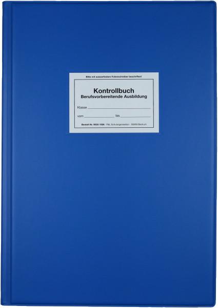 Kontrollbuch, blau